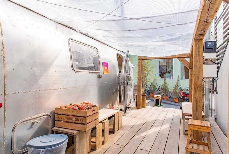 the AIRSTREAM GARDEN