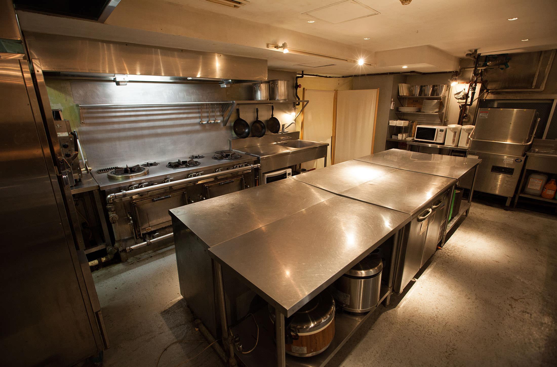 レンタル撮影スタジオのシーン: キッチンスタジオ