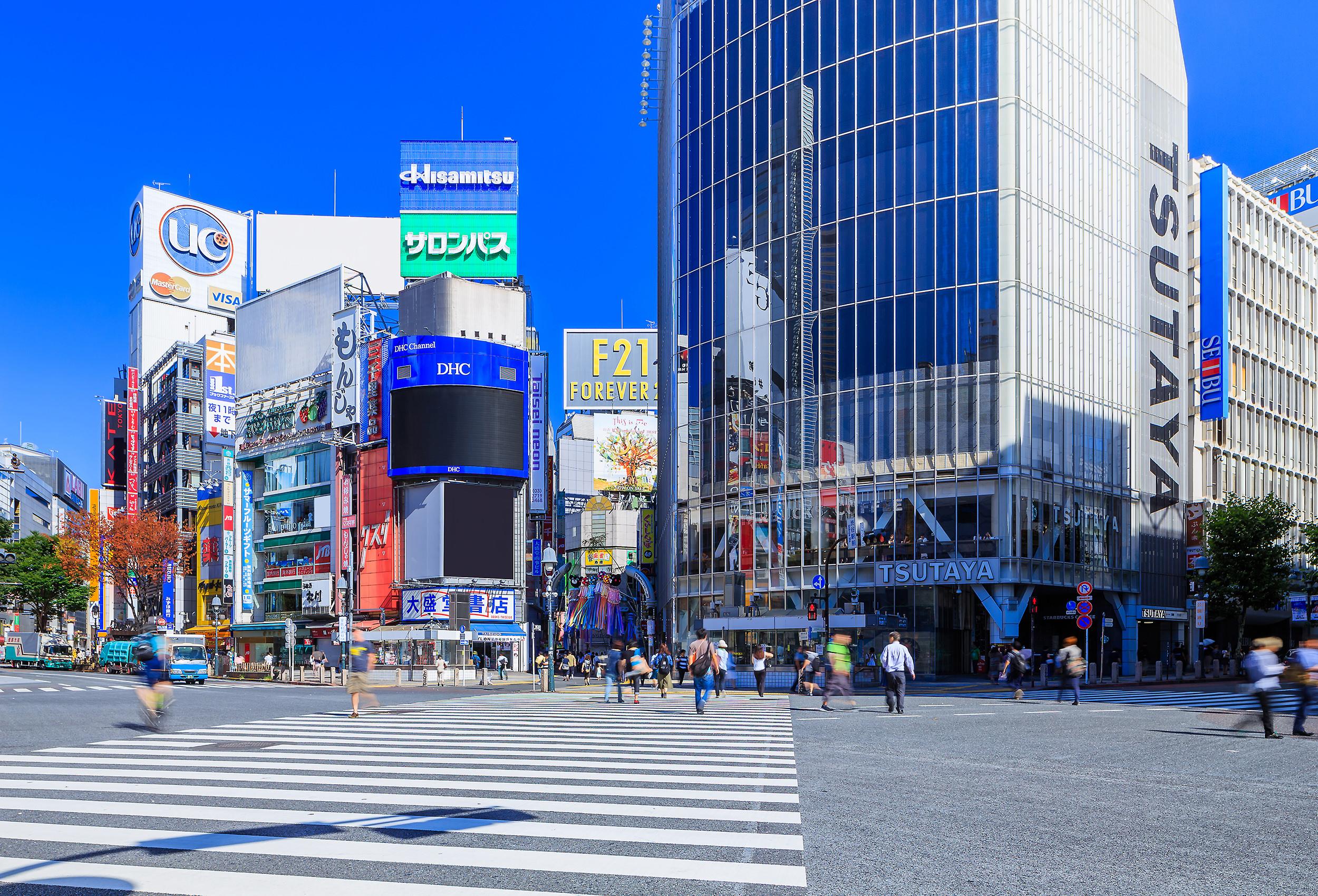 レンタル撮影スタジオのエリア: 渋谷