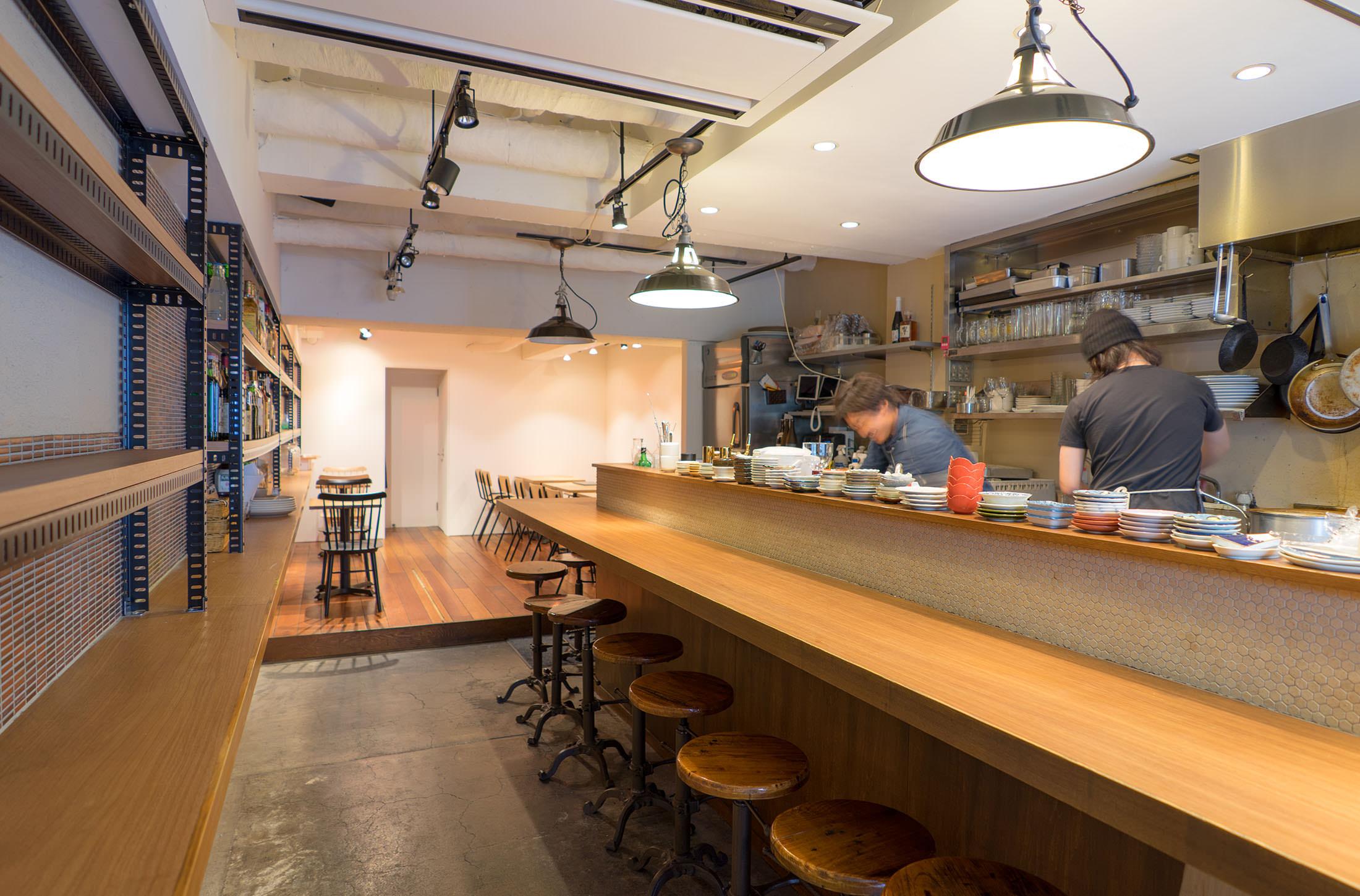 レンタル撮影スタジオのシーン: レストラン・飲食店