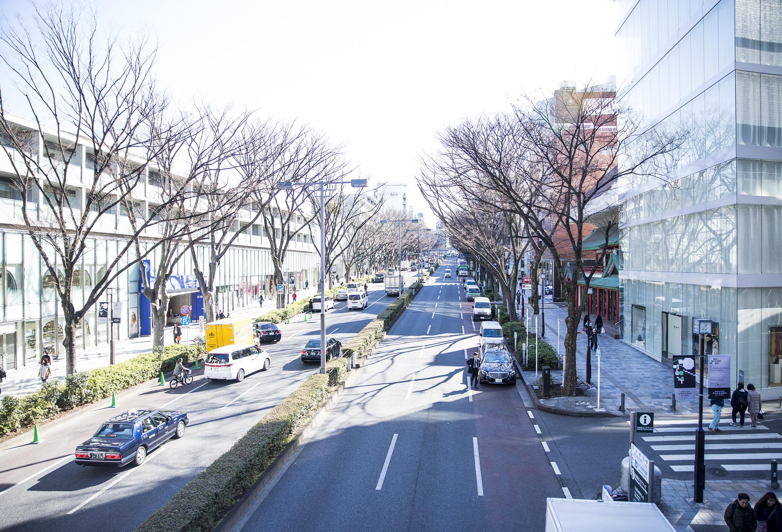 レンタル撮影スタジオのエリア: 表参道・青山