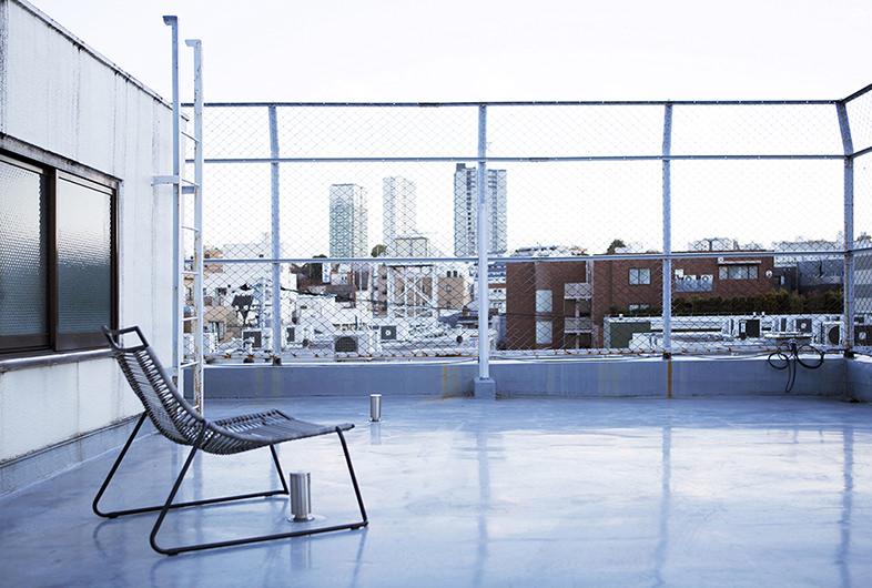 レンタル撮影スタジオのシーン: 屋上
