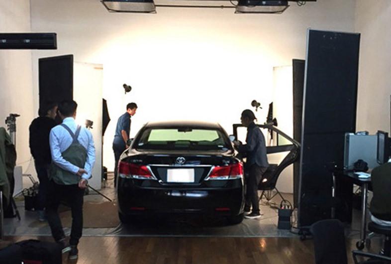 レンタル撮影スタジオのこだわり: 車両搬入可