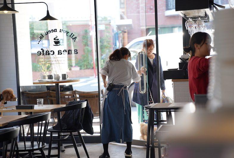 anea cafe 白金店で撮影された作例